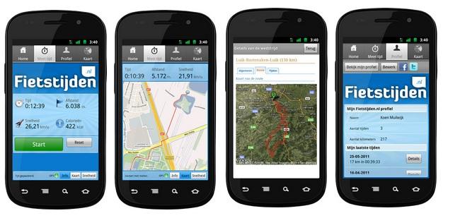 fietstijden app
